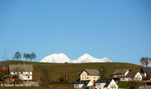 Wonders of Nature: Snow in the Distance